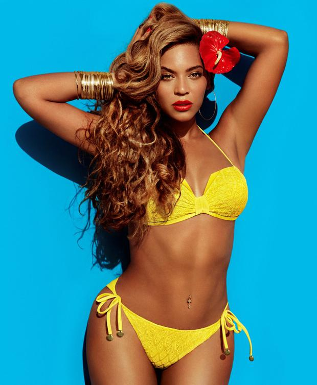 Beyonce sizzled in her H&M campaign