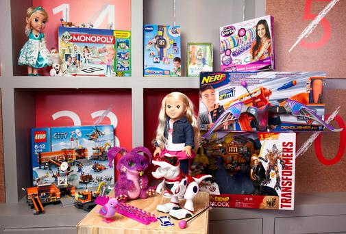 Argos unveiled their list of top toy predictions for 2014 during the Argos Christmas Preview in London.