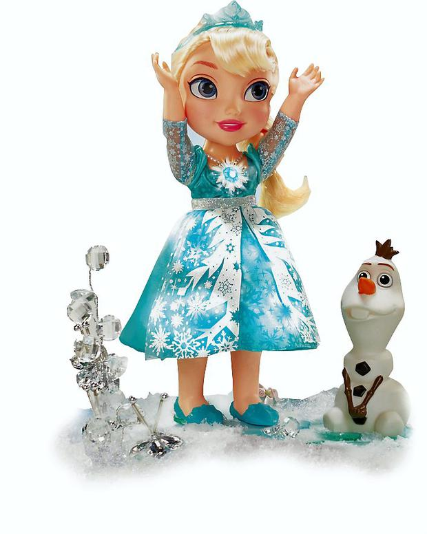Princes Snow Glow Elsa reflects the obsession with the movie Frozen