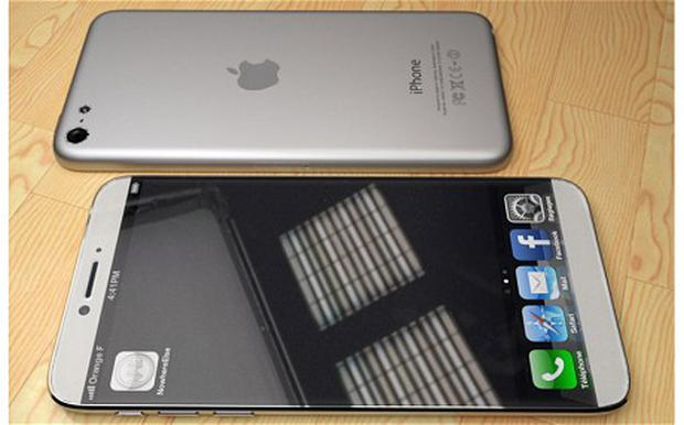 One of the many mock ups of how the iPhone 6's new, larger screen could look