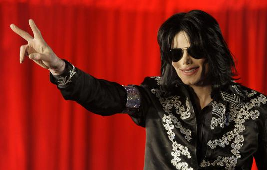 Michael Jackson in March 2009