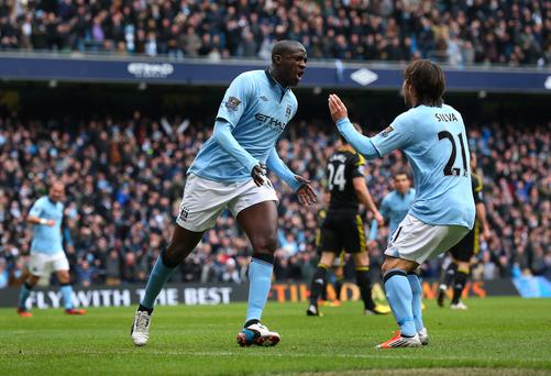 Yaya toure and David Silva make our Arsenal/Manchester City Dream Team