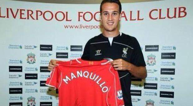 Liverpool's new signing Javi Manquillo