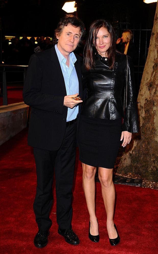 Gabriel Byrne and Hannah King got married in Cork at the weekend