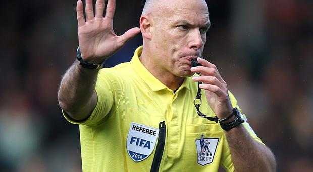Howard Webb has blown the final whistle on his refereeing career. Photo: John Walton/PA Wire