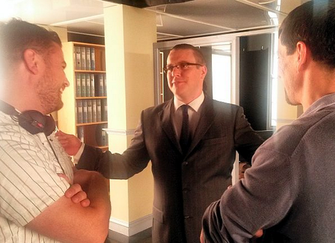 Peter Coonan plays the part of ex-Anglo boss David Drumm in new TV movie The Guarantee