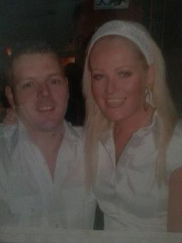 Ashling and Danny O' Connor in happier times. Ashling was 32 when she died.