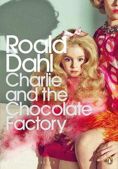 The Penguin Modern Classics new edition 'adult' cover of Roald Dahl's Charlie and the Chocolate Factory