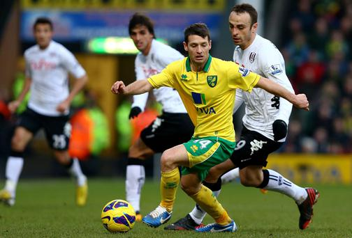 Martin O'Neil will be keeping an eye on Ireland's Wes Hoolahan in the Championship this year. Jan Kruger/Getty Images
