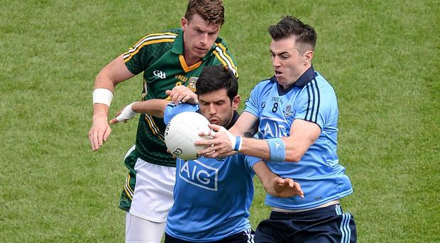 Cian O'Sullivan and Michael Darragh MacAuley have consistently provided a solid platform for Dublin in the middle of the field