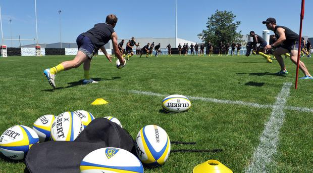 Clermont thrash Connacht as they get the new rugby season up and running in France. THIERRY ZOCCOLAN/AFP/Getty Images