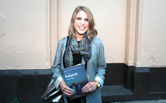 Amy Huberman arrives for the official opening of Ballyturk at the Olympia Theatre, Dublin. Photo: Gareth Chaney Collins