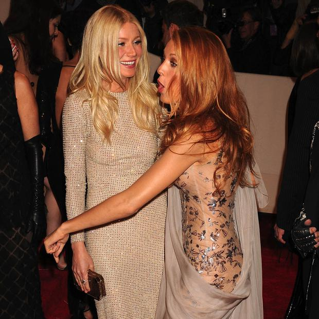 Blake and Gwyneth Paltrow