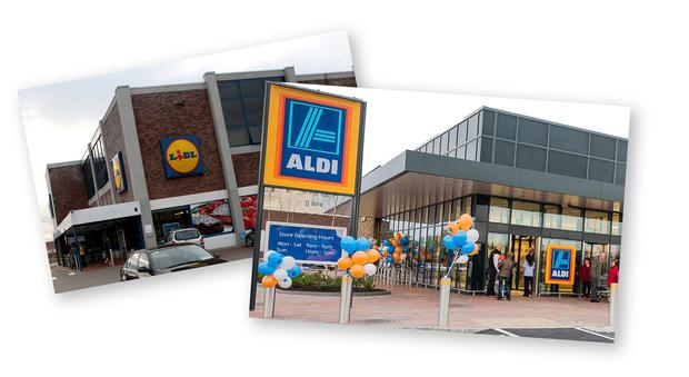 Report finds that only about half of shoppers at Lidl and Aldi found the supermarkets to be welcoming.
