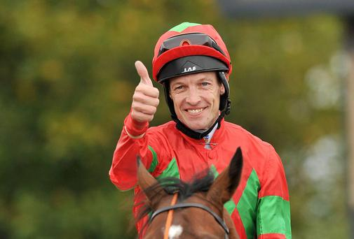 Jockey Richard Hughes