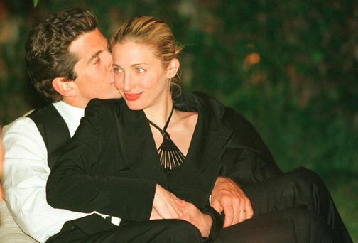 New take on an old love: John F. Kennedy Jr. and his wife Carolyn were 'best friends and soulmates', according to his PA. Photo by Tyler Mallory/Getty Images