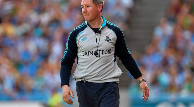 Dublin manager Jim Gavin is not getting carried away despite his sides convincing win over Monaghan in their All-Ireland quarter final. Picture credit: Barry Cregg / SPORTSFILE