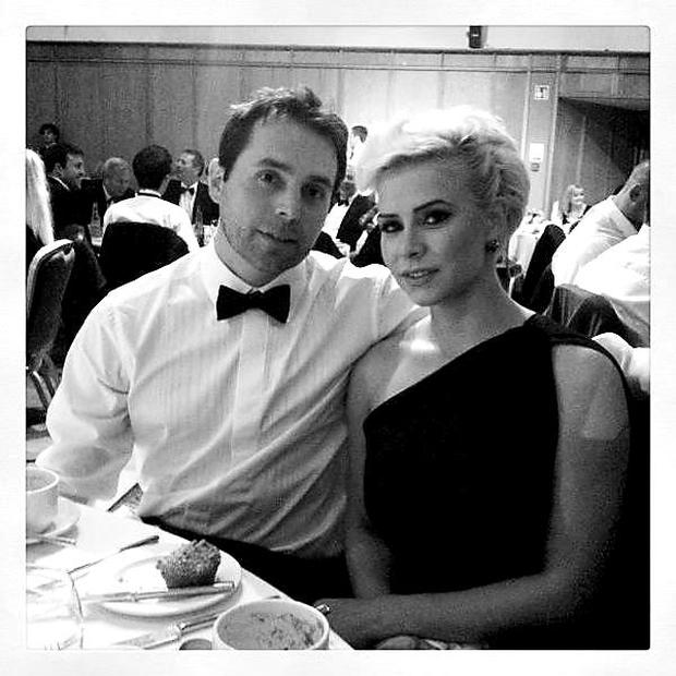 Holly and boyfriend Jeff Mason