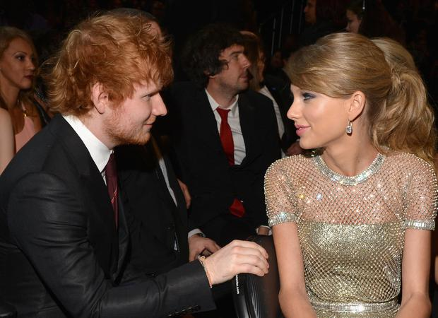 Ed Sheeran och Taylor Swift är de datingdating i Alabama