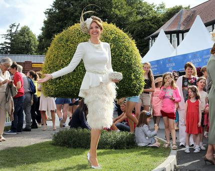 Carol won Best Dressed at the Dublin Horse Show this week