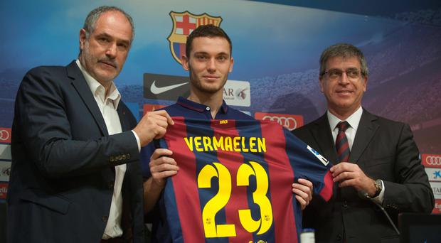 FC Barcelona's new Belgian defender Thomas Vermaelen says he cannot wait to kick-start his career at the Nou Camp.