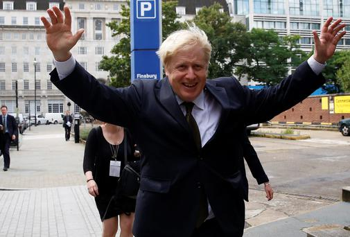 London's mayor Boris Johnson has been described as a clown and an entertainer