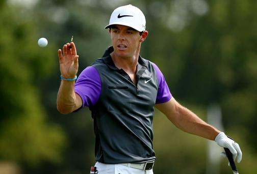 Rory McIlroy says he is full of admiration for the achievements of Tiger Woods. Photo: Andy Lyons/Getty Images
