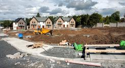 Although construction is on the up, the number of housing permits is still significantly below demand.