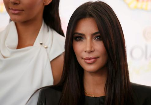 Kim Kardashian arrives at the Teen Choice Awards 2014 in Los Angeles, California. Reuters/Danny Moloshok