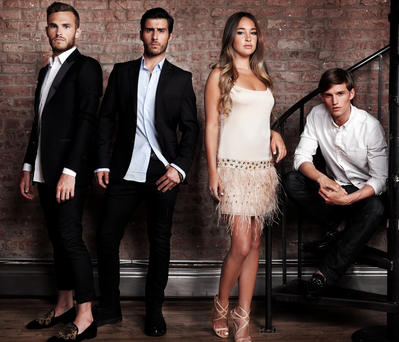Made in Chelsea newcomers Carson, Alik, Billie and Jules