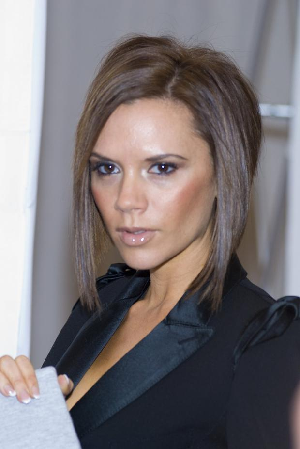 Even Victoria Beckham Cant Escape The Ghosts Of Hairstyles Past