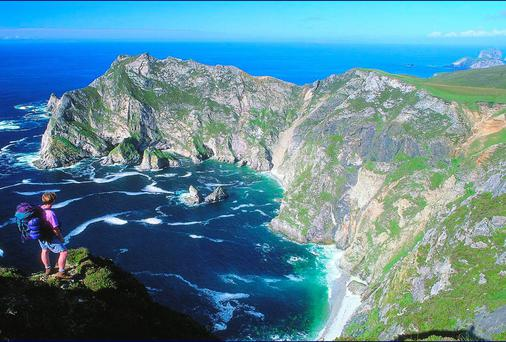 Stunning Sliabh Liag in Donegal