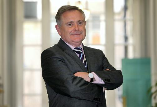Public Expenditure and Reform minister Brendan Howlin has taken the initiative in rethinking public sector pay levels. Photo: Frank McGrath
