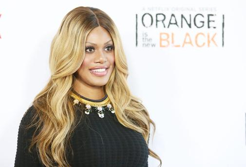 Transgender actress Laverne Cox
