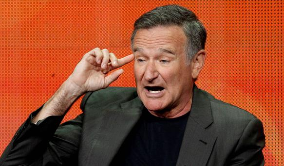 Actor-comedian Robin Williams was found dead at his home in Northern California from an apparent suicide, Marin County Sheriff's Office said. He was 63. Reuters