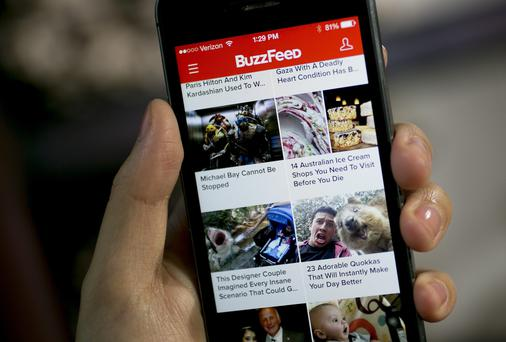 Buzzfeed has been valued at $850m