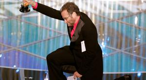 Actor and comedian Robin Williams prepares to present the award for best animated feature at the 77th Academy Awards in Hollywood