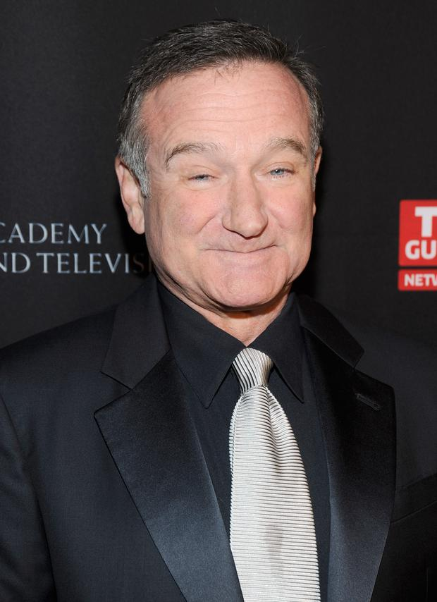 BEVERLY HILLS, CA - NOVEMBER 30: Actor Robin Williams arrives at BAFTA Los Angeles 2011 Britannia Awards at The Beverly Hilton hotel on November 30, 2011 in Beverly Hills, California. (Photo by Frazer Harrison/Getty Images For BAFTA Los Angeles)