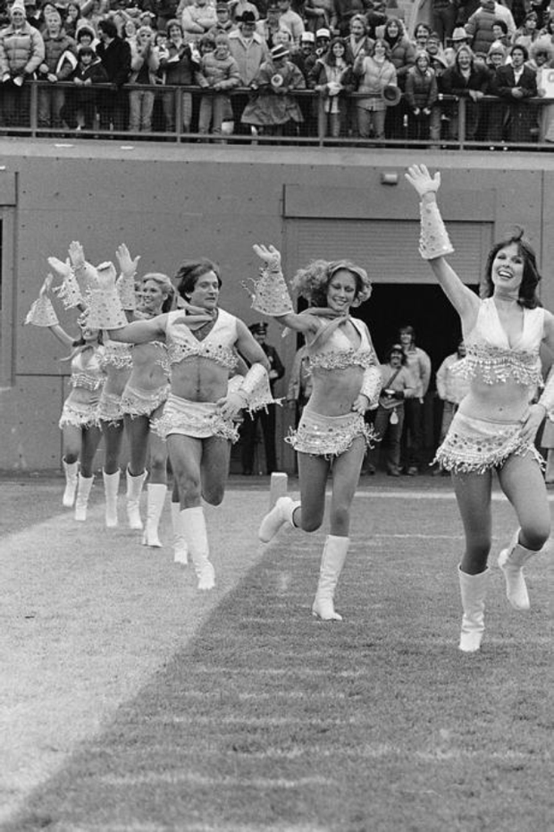 1. Cheerleading for the Denver broncos 1980 - sent in by Colin Corrigan.