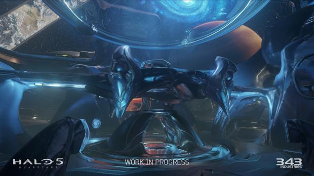 Halo 5 Guardians multiplayer beta map - Centerpoint