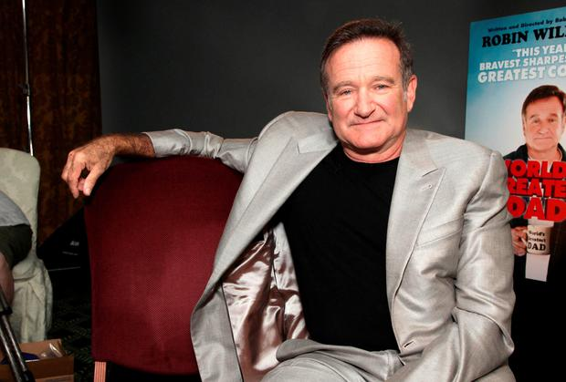 Robin Williams visited Ireland on many occasions and even acquired a 'stagey' Irish accent