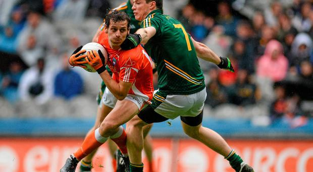 Armagh's captain and talisman Jamie Clarke is taking a break from the game
