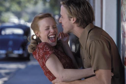 Ryan Gosling and Rachel McAdams star in The Notebook