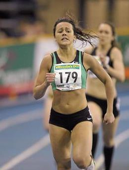 Young Irish 400m hurdler Christine McMahon (22) survived the most dramatic race of her life this morning to make the semi-finals of the European Championships at Zurich on her senior international debut.