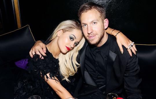 Rita Ora and Calvin Harris recently split