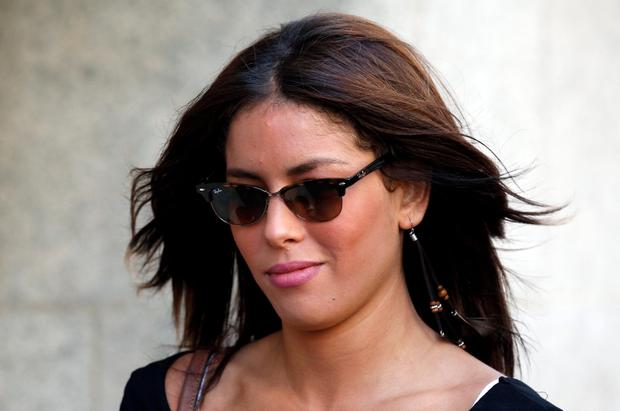 Nawal Msaad arrives at the Old Bailey in London where she faces a charge of funding terrorism Jonathan Brady/PA Wire