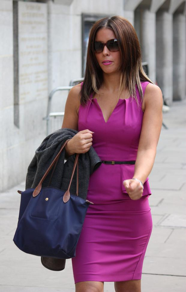 Nawal Msaad arriving at the Old Bailey in London Delara Shakib/PA Wire