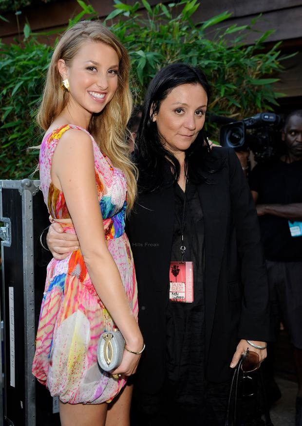 Kelly Cutrone and Whitney Port