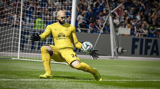 Another epic save from Tim Howard, this time in FIFA 15