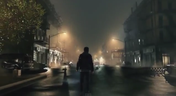 Screen shot from the Silent Hills reveal trailer
